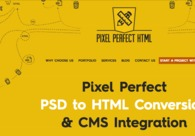 A great web design by Pixel Perfect HTML, Manassas, VA: