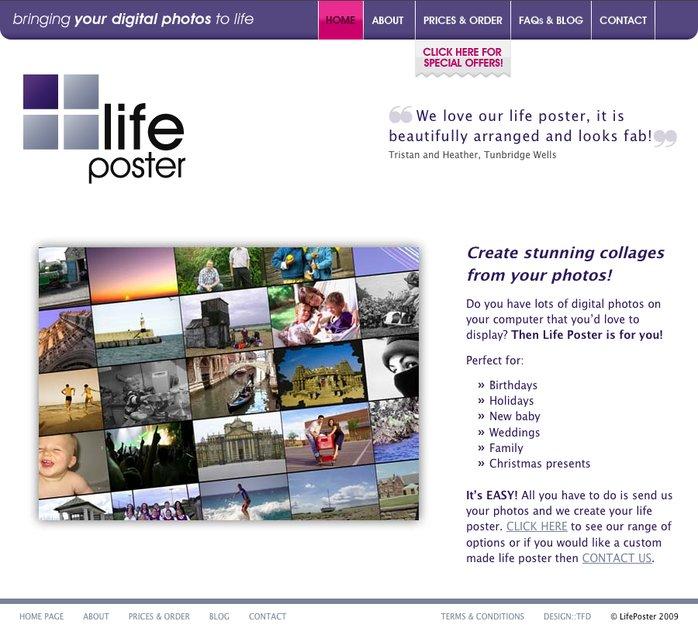 A great web design by TEKOA Creative, Oxford, United Kingdom: