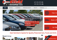 A great web design by ImpactInteractive, Hamilton, Canada: Responsive Website, Portfolio , Automotive , Wordpress