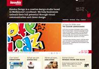 A great web design by Koodoz Design, Melbourne, Australia: