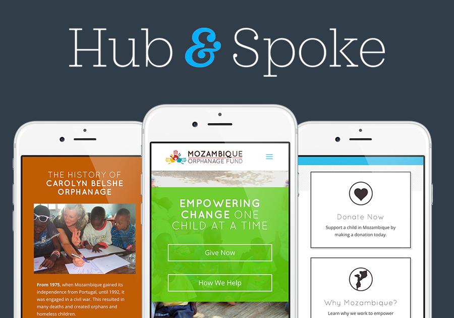 A great web design by Hub & Spoke, Saint Louis, MO: