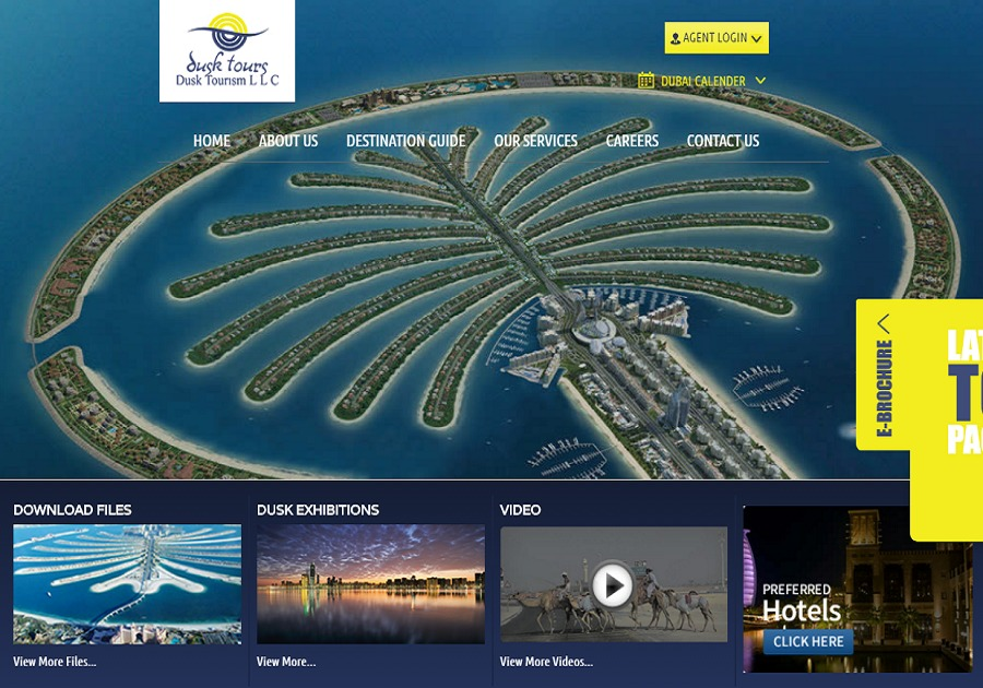 A great web design by dynasty-me.com, Dubai, United Arab Emirates:
