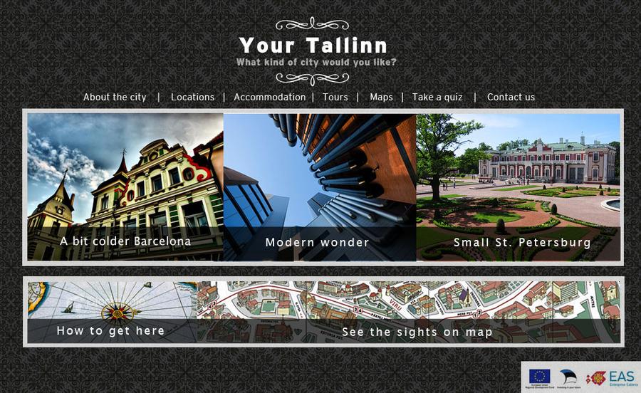 A great web design by Inspiral Network, Tallinn, Estonia: