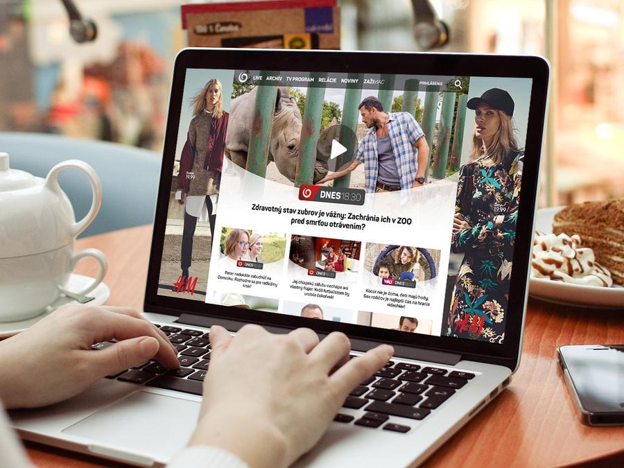 A great web design by eFabrica, a.s., Bratislava, Slovakia: