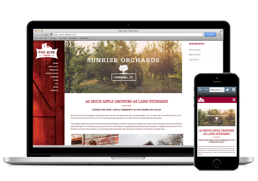 A great web design by Ovenlight, Portland, OR:
