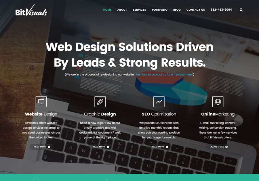 A great web design by BitVisuals Dallas Web Design, Dallas, TX: