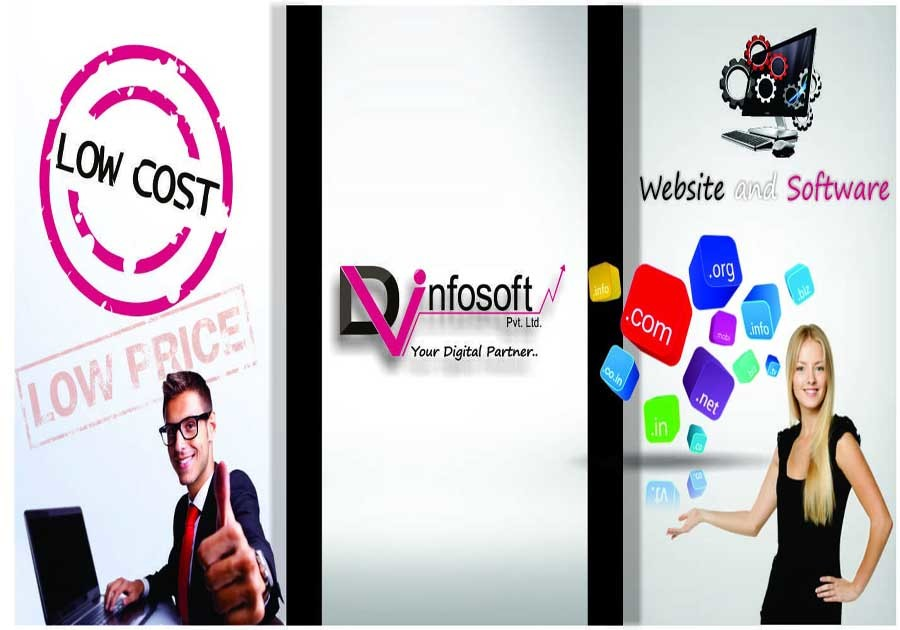 A great web design by Dv Infosoft Pvt Ltd, Bhopal, India: