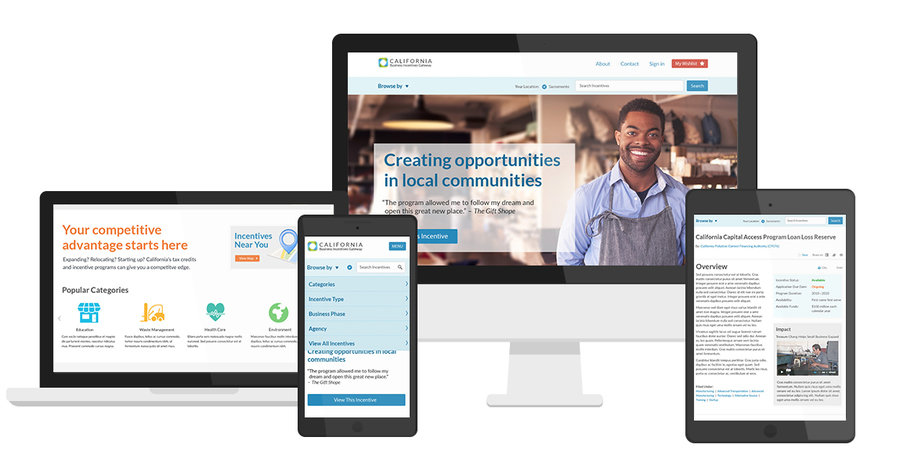 A great web design by SymSoft Solutions, Sacramento, CA: Responsive Website, Publishing , Government , ASP.NET