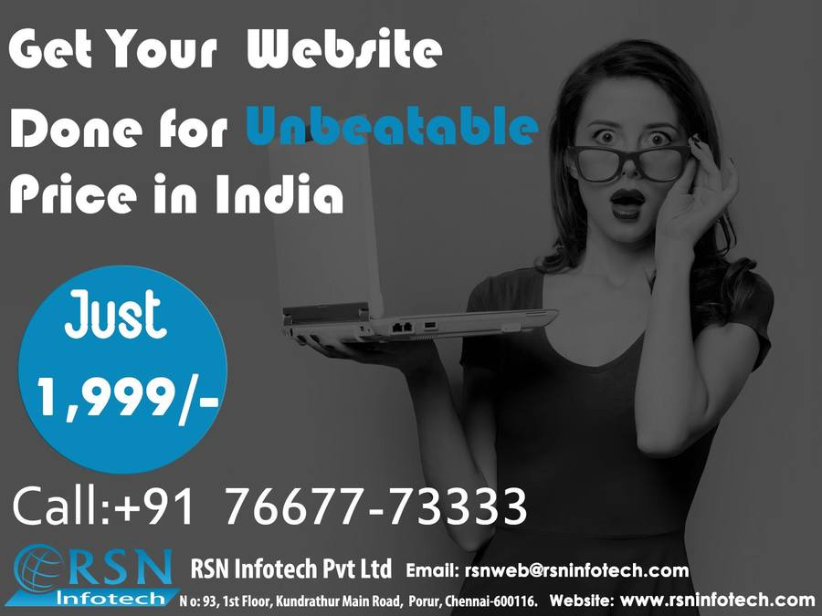 A great web design by Rsn Infotech, Chennai, India: