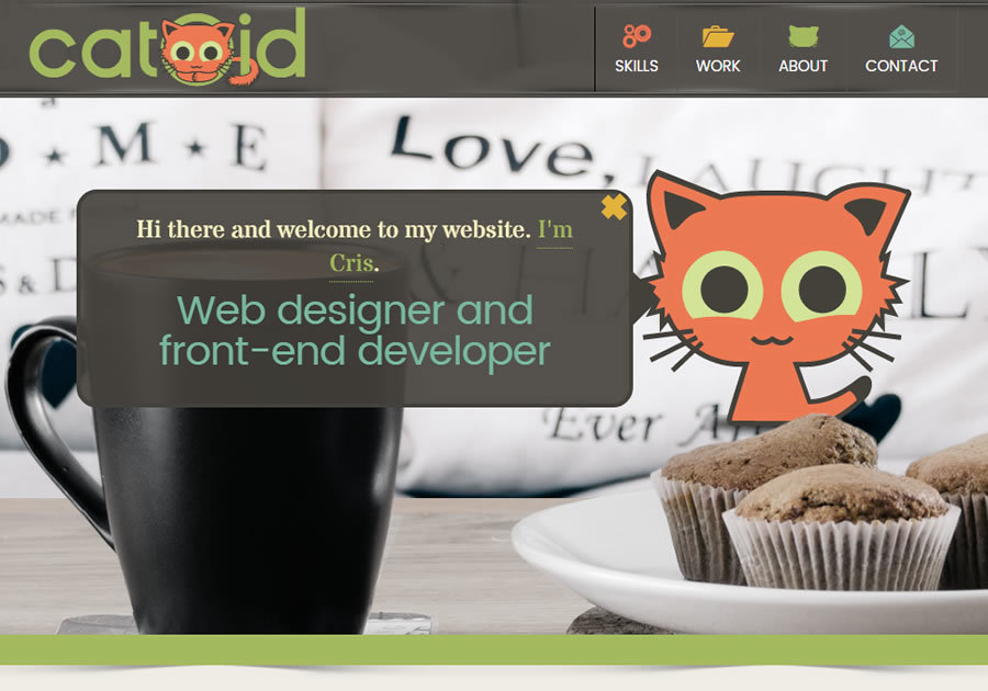 A great web design by Catoid, Timisoara, Romania: