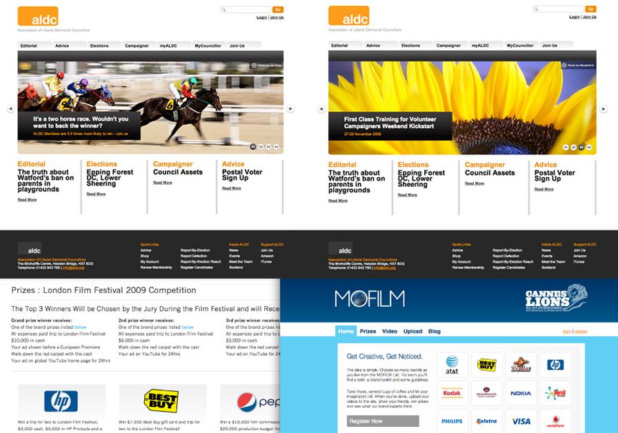 A great web design by Via Studios, Manchester, United Kingdom: