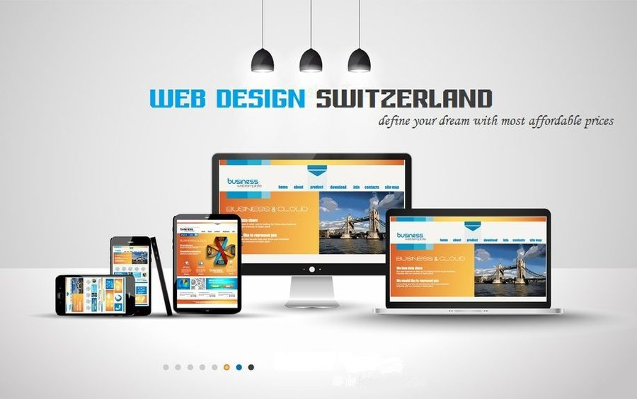 A great web design by Switzerland Web Design, Geneva, Switzerland: