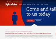 A great web design by The Info Solution, Gurgaon, India: