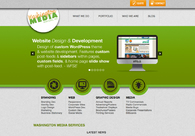 A great web design by Washington Media Services, Inc., Olympia, WA: