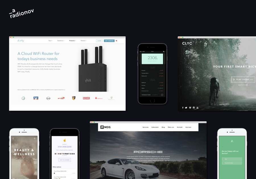 A great web design by aradionov, Riga, Latvia: