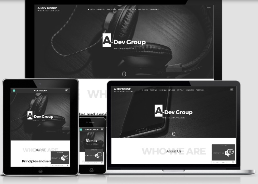 A great web design by A-DevGroup, Odessa, Ukraine: