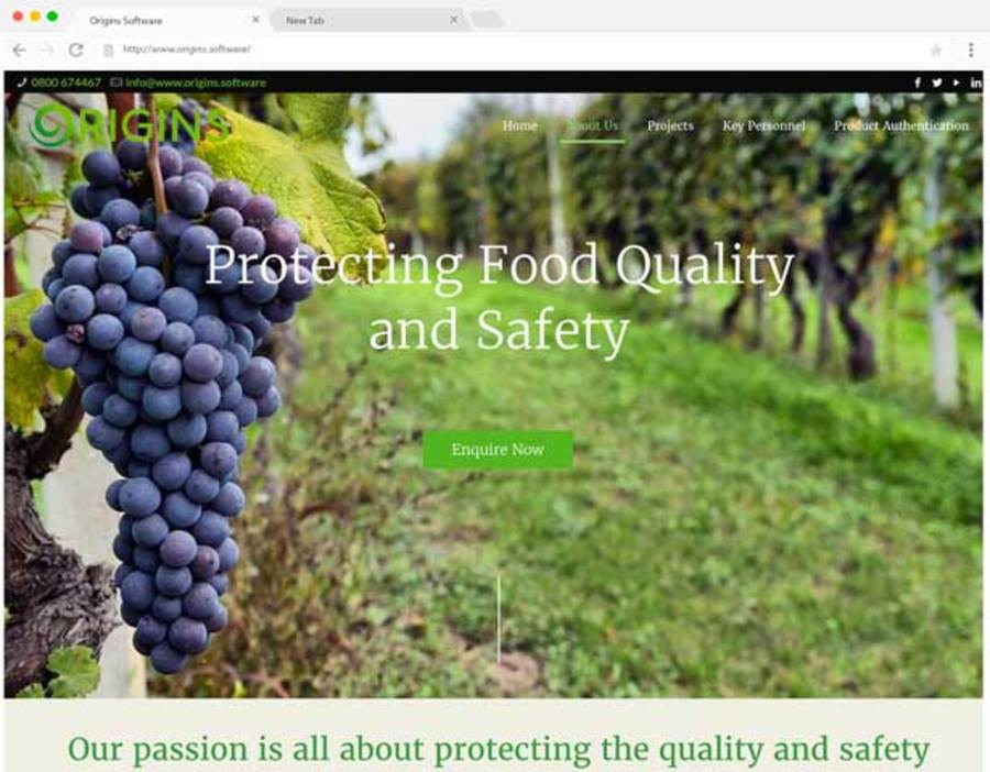 A great web design by DataHQ, Papakura, New Zealand:
