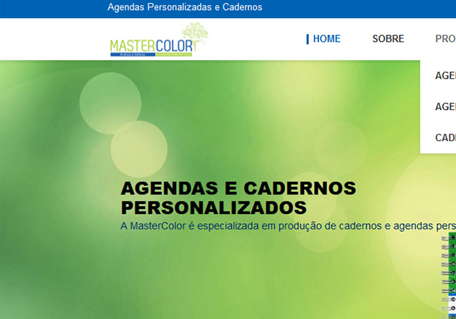 A great web design by MasterColor, Brasil, Brazil: