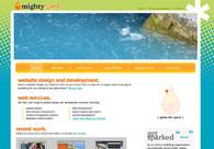 A great web design by Mightyspark Industries, Washington DC, DC: