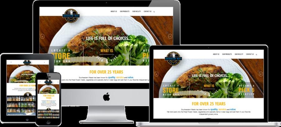 A great web design by WebbSitesCo, Mobile, AL: Responsive Website, Marketing Website , Food & Beverage , Wordpress
