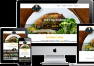 A great web design by WebbSitesCo, Mobile, AL: Responsive Website, Marketing Website , Food & Beverage , Wordpress
