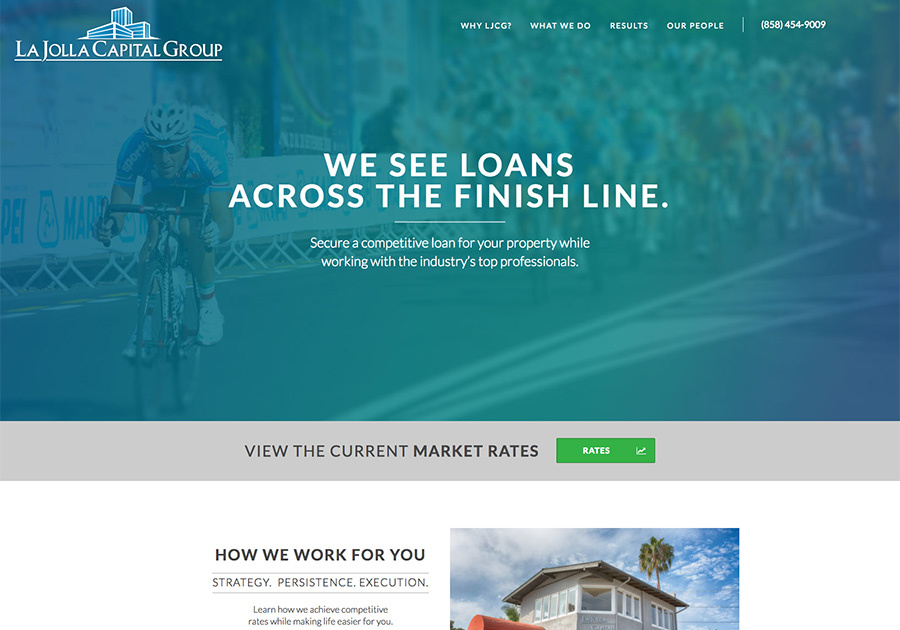 A great web design by TinyFrog Technologies, San Diego, CA: