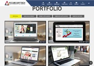 A great web design by Pccube Softtech, Ahmedabad, India: