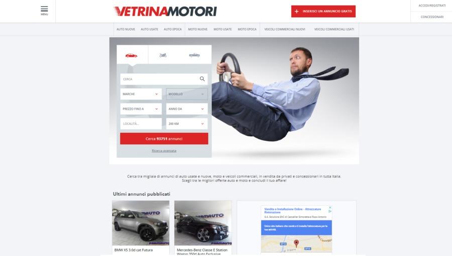 A great web design by Recursive Software Development, Tallinn, Estonia: Responsive Website, Web Application , Automotive , Django