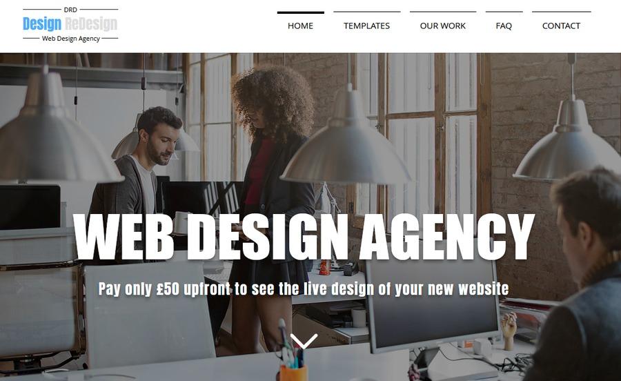 A great web design by DesignReDesign, London, United Kingdom: