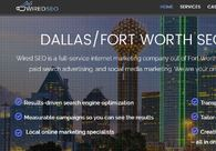 A great web design by Wired SEO, Dallas, TX: