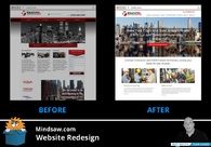 A great web design by Mindsaw, Staten Island, NY: