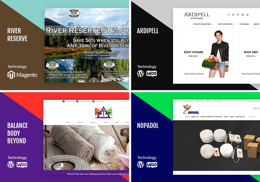 A great web design by Perfecent, Los Angeles, CA: Website, Portfolio , Service , Magento