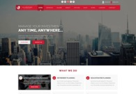 A great web design by Design Proficient, New York, NY: Responsive Website, Portfolio , Financial Services , Wordpress