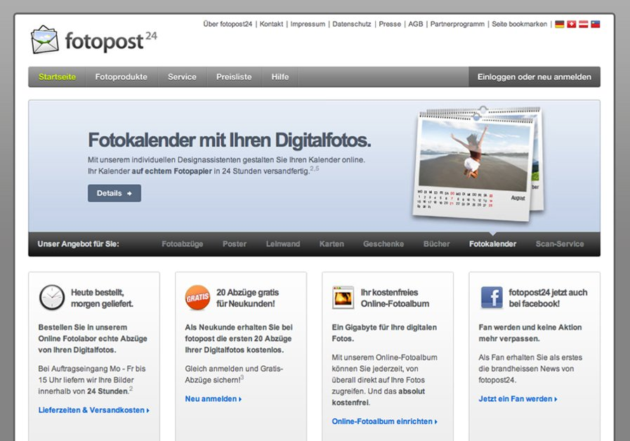 A great web design by zitrusfrisch, Wuppertal, Germany: