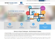 A great web design by Skynet Technologies, Jamnagar, India: Technology