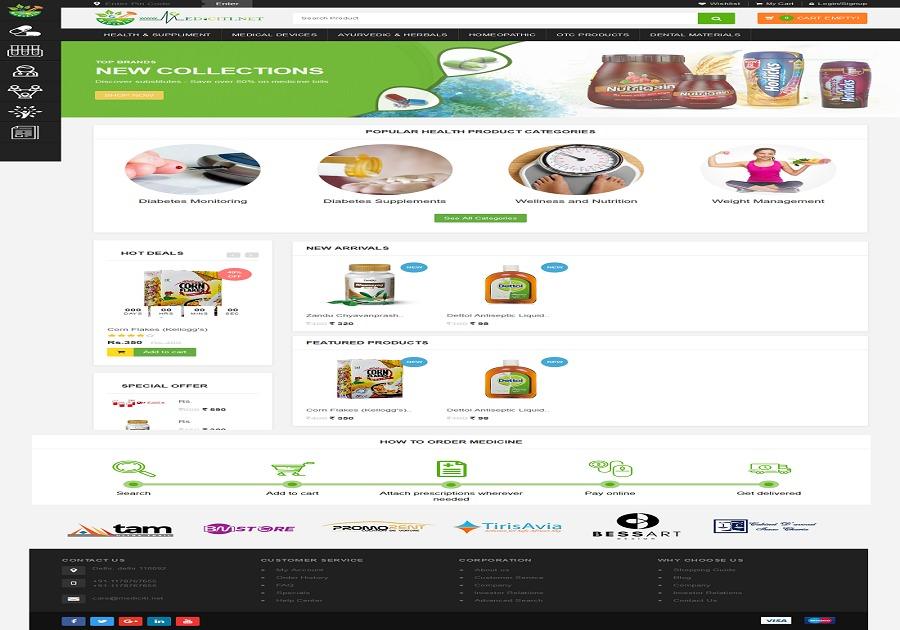 A great web design by Softzenia Technologies India Pvt. Ltd., New Delhi, India: