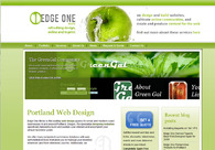 A great web design by Edge One Media, Portland, OR: