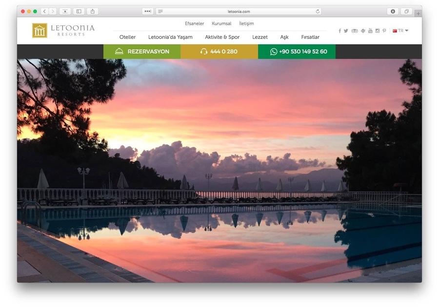 A great web design by Betatek, Istanbul, Turkey: