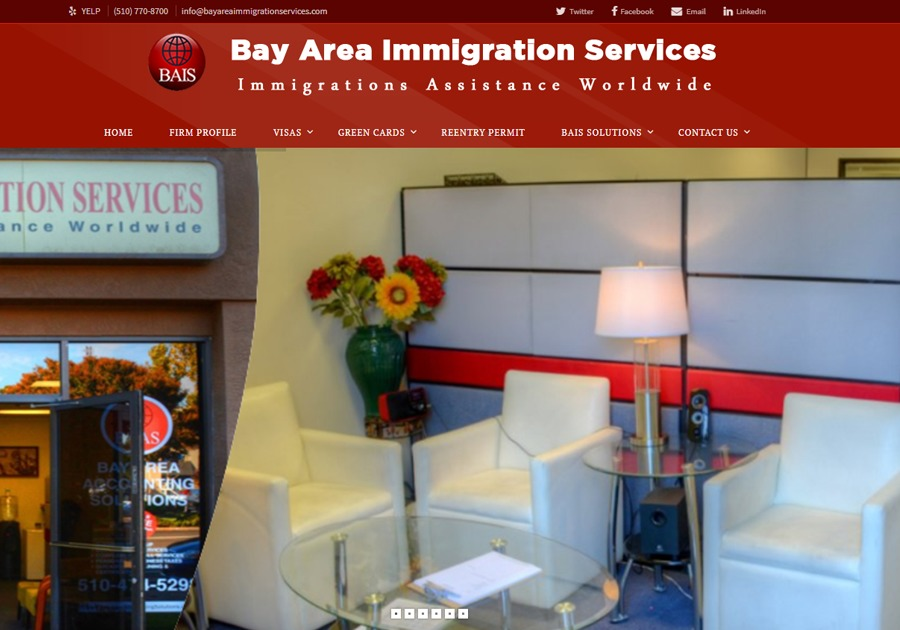 A great web design by Embtel Solutions, San Francisco, CA: