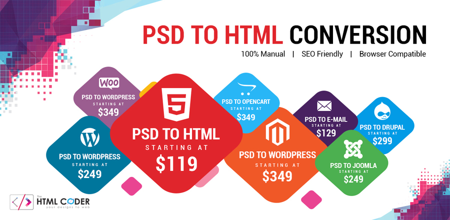 A great web design by TheHTMLCoder.com - PSD to HTML Company, Gurgaon, India: