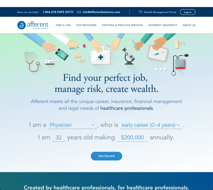 A great web design by Stoke Studio, Dallas, TX: Responsive Website, Marketing Website , Healthcare, node.js
