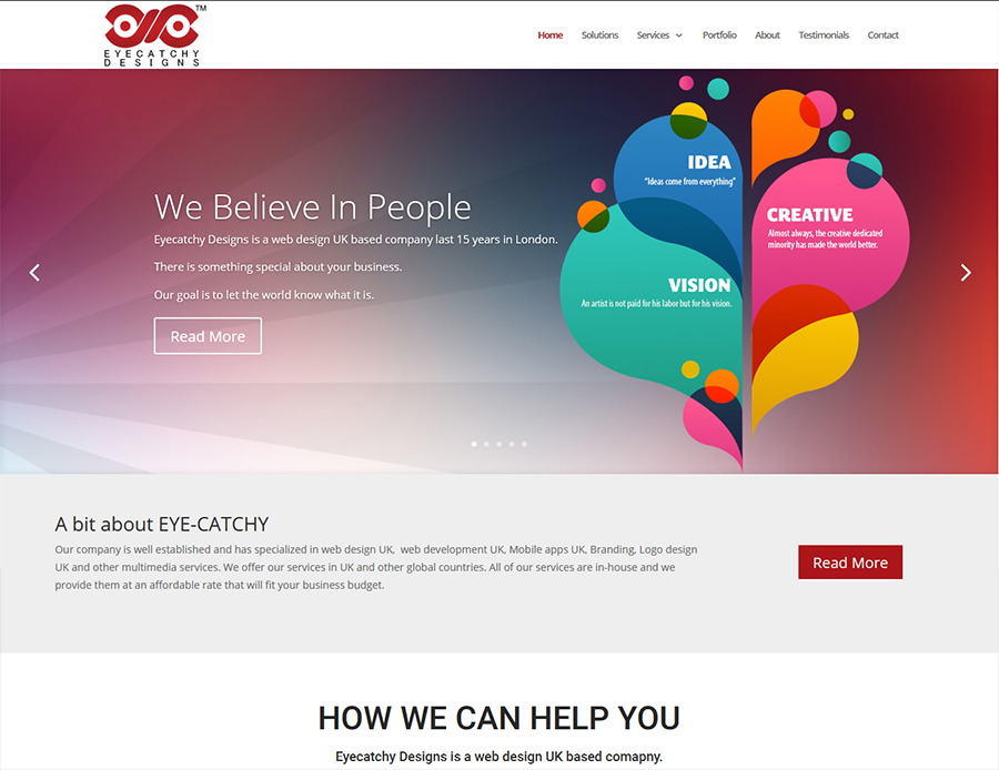 A great web design by Eyecatchy Designs, Delhi, India: