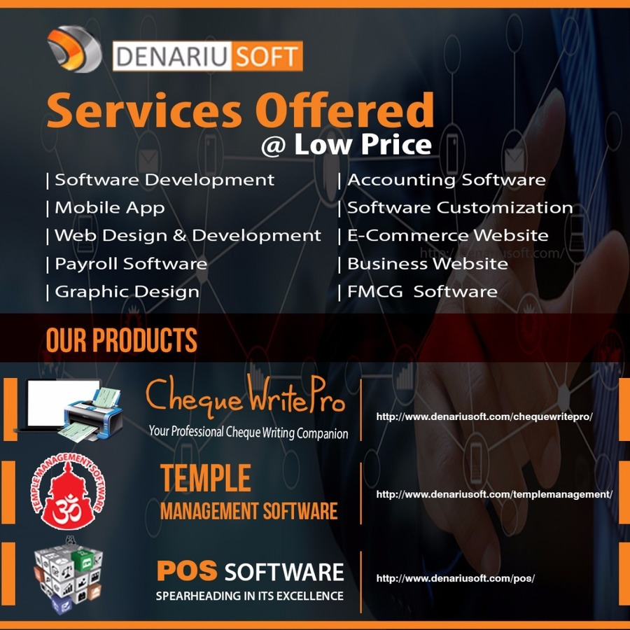 A great web design by Denariusoft , Coimbatore, India: