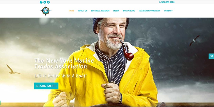A great web design by Sound Strategies, Inc., Port Washington, NY: