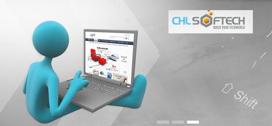 A great web design by CHL Softech, Noida, India: