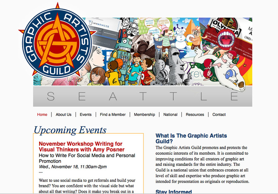 A great web design by Heated Media, Seattle, WA: