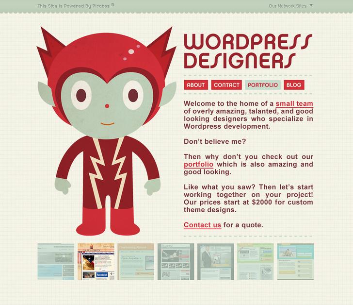 A great web design by Wordpress Designers, Atlanta, GA: