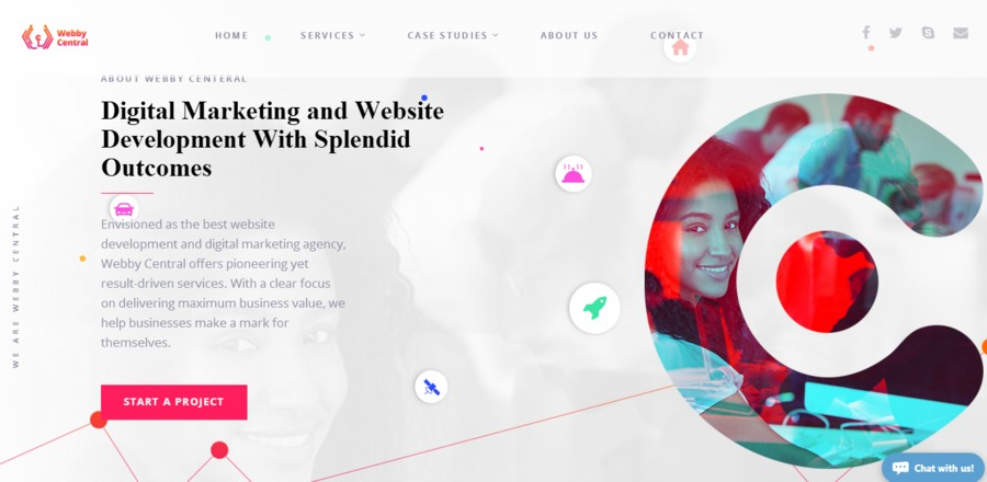 A great web design by Webby Central, Fremont, CA: