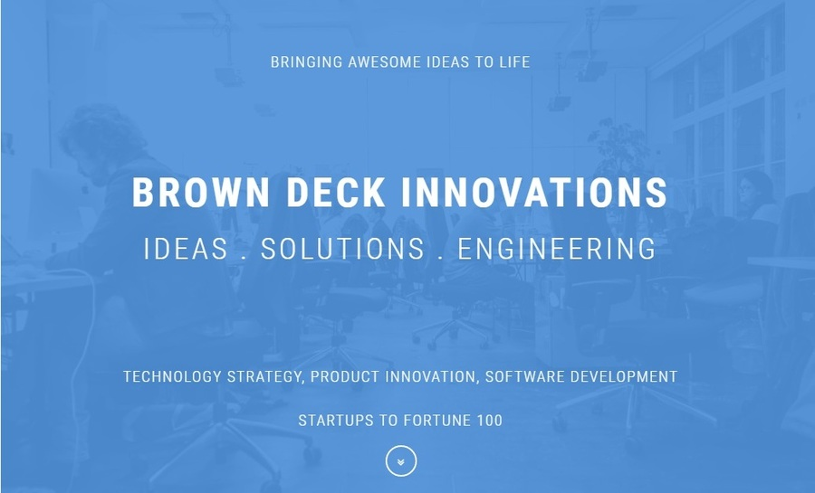 A great web design by Brown Deck Innovations, Los Altos, CA: