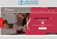 A great web design by Skyward Softwares & Solutions, Ahmadabad, India: